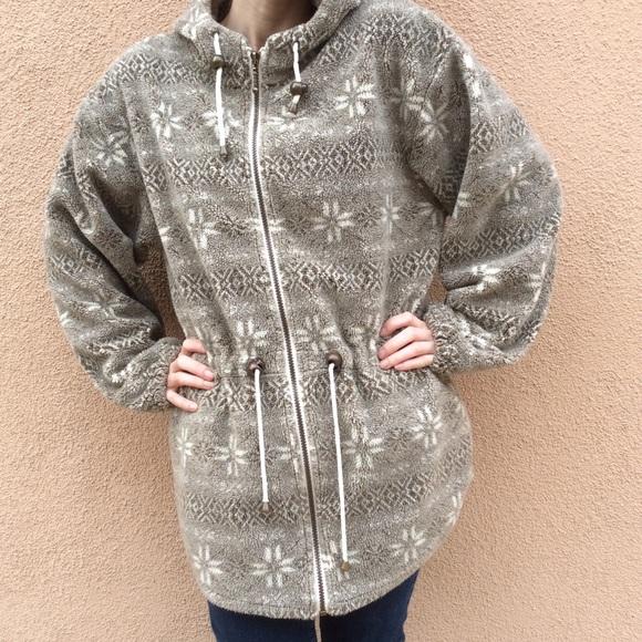 REI Jackets & Blazers - Snowflake Winter Fleece Jacket Tsunami Sport